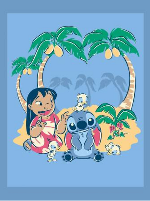 Lilo & Stitch Fabric Panel