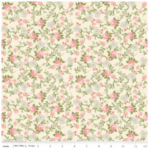 Rose & Violet's Garden Sweet Blossom - CREAM