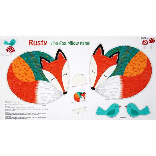 Rusty the Fox Panel
