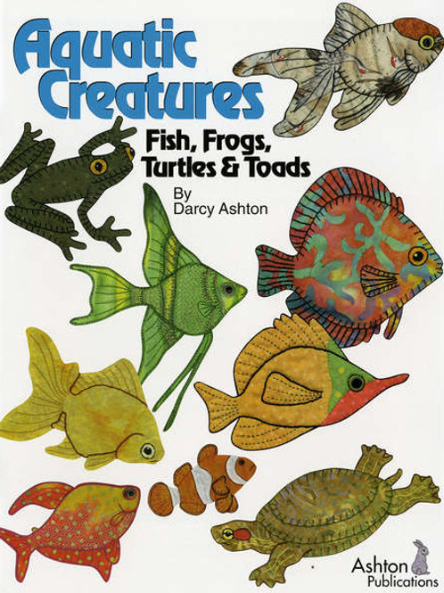 Aquatic Creatures Fish, Frogs, Turtles & Toads