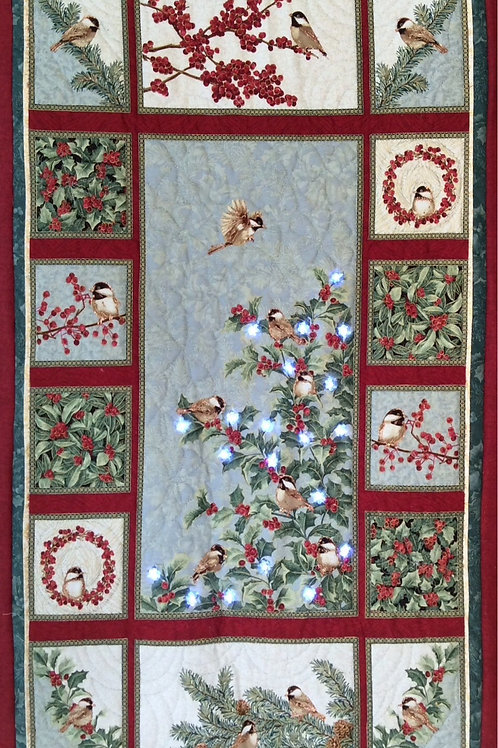 'Chickadees' Wall Hanging KIT-