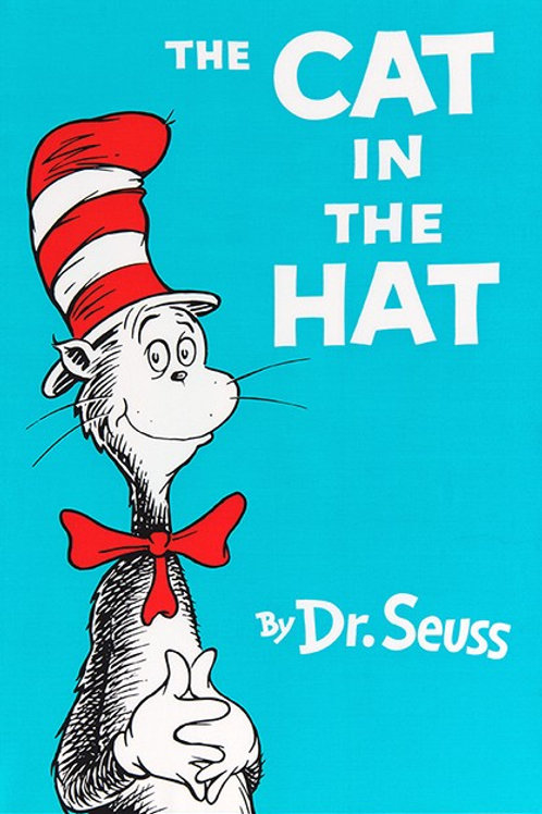 Dr Seuss ~ Cat in the Hat Fabric panel