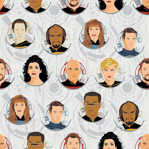 Star Trek White Badges