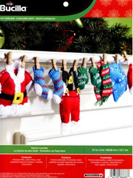 Santa's Laundry Ornaments