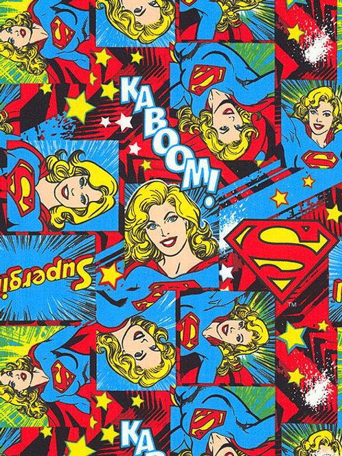 Supergirl Fabric