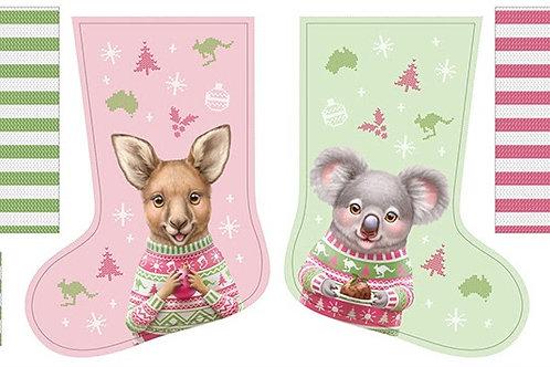 Aussie Friends - Christmas Stocking