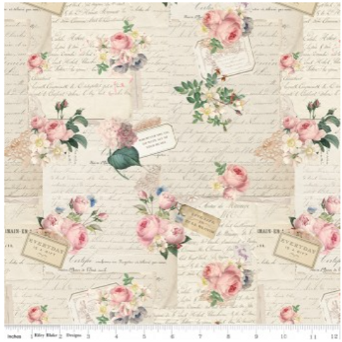 Rose & Violet's Garden Party - PARCHMENT