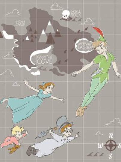 Peter Pan Neverland - cot panel