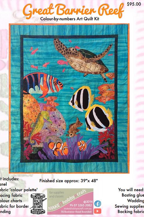 Great Barrier Reef Art Quilt