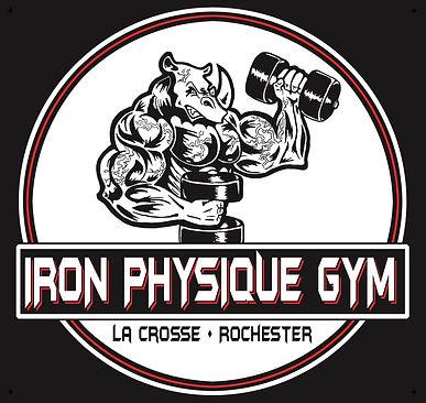 Iron Physique Gym Circle Logo 2 Location
