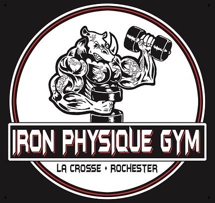 Iron Physique Gym Circle Logo 2 Location
