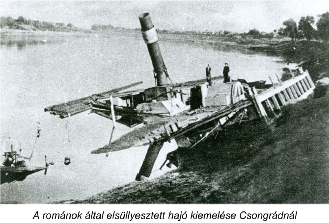 """""""Vizet eresztettünk az oláh bocskorába"""" – árvíz, magyar-román háború és román megszállás Csongrád kö"""