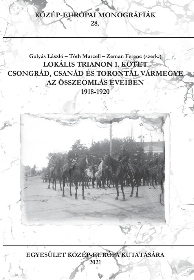 Perczel Olivér két tanulmánya a Lokális Trianon kiadvány 1. kötetében