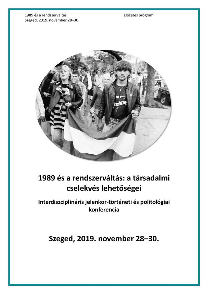 Végső István: Egy napos részvételi demokrácia '79 - a kiskunhalasi Nemes Tanács története. Szegedi T