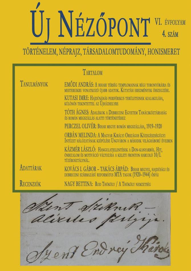 Perczel Olivér: Bihar megye román megszállása, 1919-1920