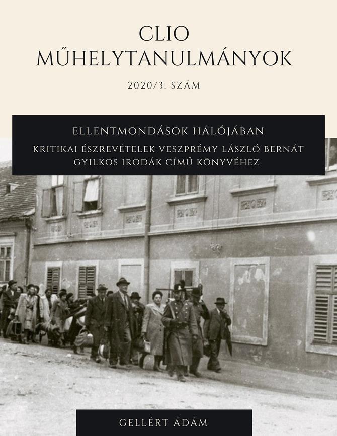 Ellentmondások hálójában – Kritikai észrevételek Veszprémy László Bernát Gyilkos irodák című könyvéh