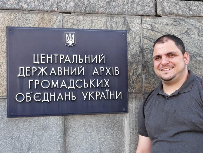 Fóris Ákos – Paládi Renáta: Beszámoló a 2020. augusztusi kijevi levéltári kutatásról