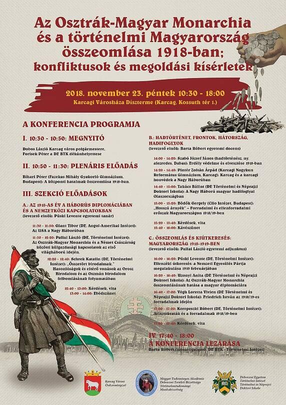Hosszú árnyék: Forradalmi és ellenforradalmi erőszak Magyarországon 1918–1919. Bödők Gergely előadás