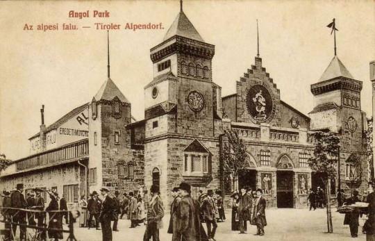 Az Angol Park története, 1911–1945