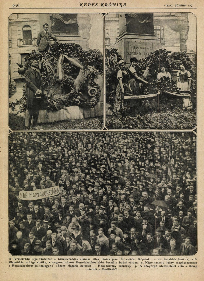 1920. június 4.: Budapest néma tüntetése. Bödők Gergely, 24.hu