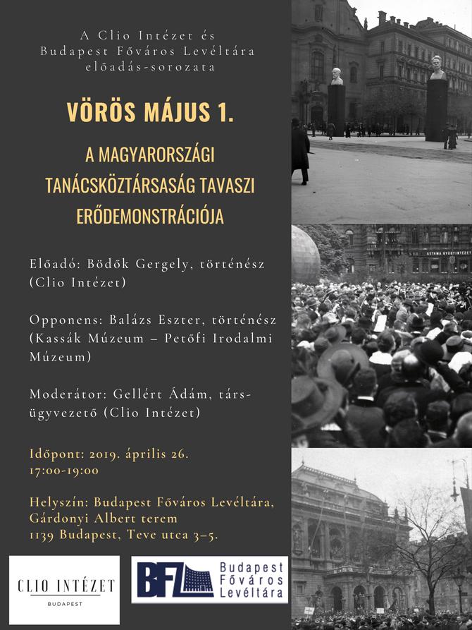 Vörös május 1. – A Tanácsköztársaság tavaszi erődemonstrációja, Vita, április 26. 17:00