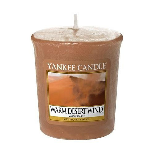 Yankee Candle Votive Candle Warm Desert Wind