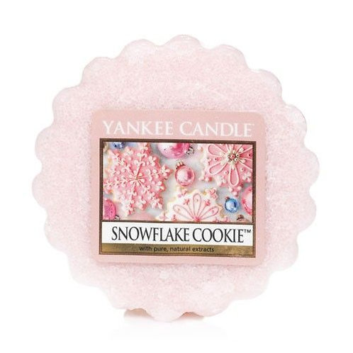 Yankee Candle Wax Melt Snowflake Cookie