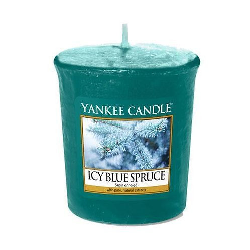 Yankee Candle Votive Candle Icy Blue Spruce