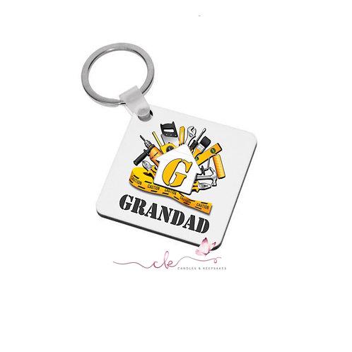 Personalised Keyring DIY - Grandad