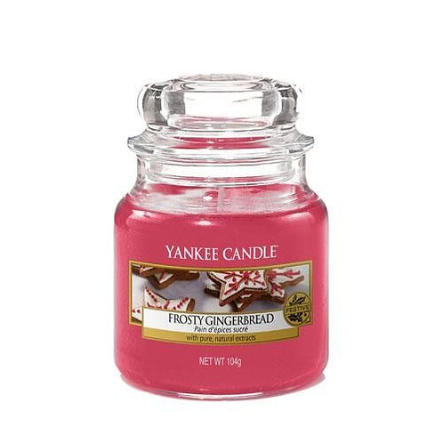 Yankee Candle Small Jar Frosty Gingerbread