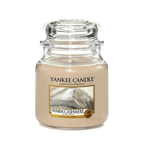 Yankee Candle Medium Jar Warm Cashmere