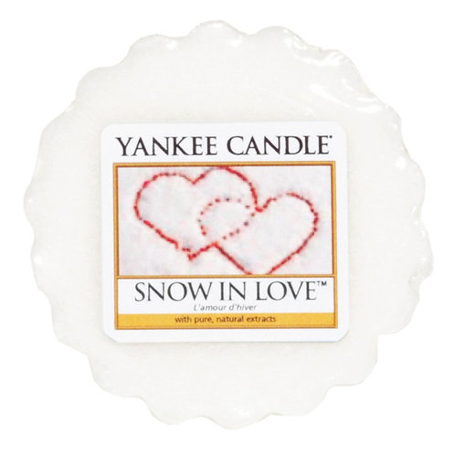 Yankee Candle Wax Melt Snow in Love