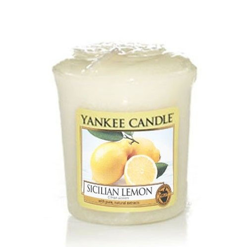 Yankee Candle Votive Candle Sicilian Lemon