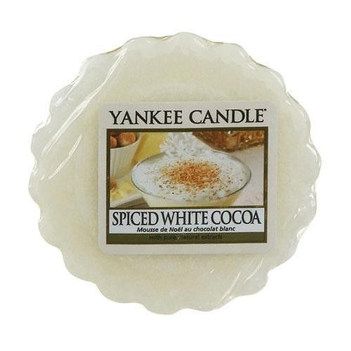 Yankee Candle Wax Melt Spiced White Cocoa