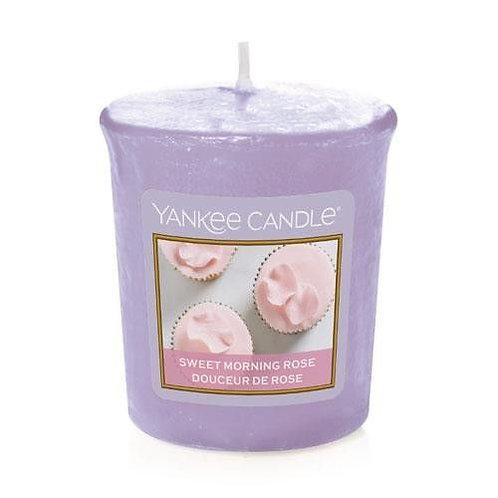 Yankee Candle Votive Candle Sweet Morning Rose