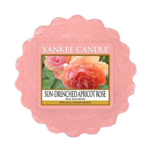 Yankee Candle Wax Melt Sun Drenched Apricot Rose