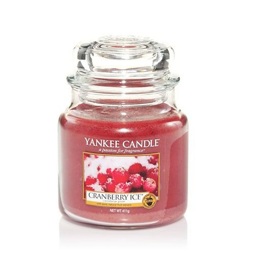 Yankee Candle Medium Jar Cranberry Ice