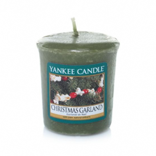 Yankee Candle Votive Candle Christmas Garland