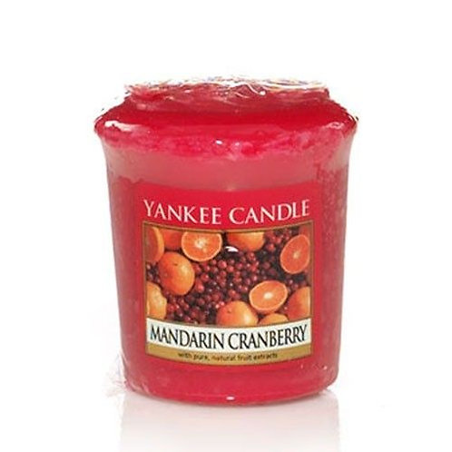Yankee Candle Votive Candle Mandarin Cranberry