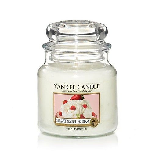 Yankee Candle Medium Jar Strawberry Buttercream