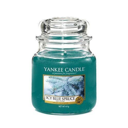 Yankee Candle Medium Jar Icy Blue Spruce