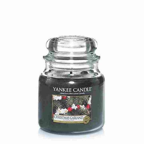Yankee Candle Medium Jar Christmas Garland