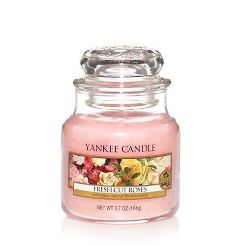 Yankee Candle Small Jar Fresh Cut Roses