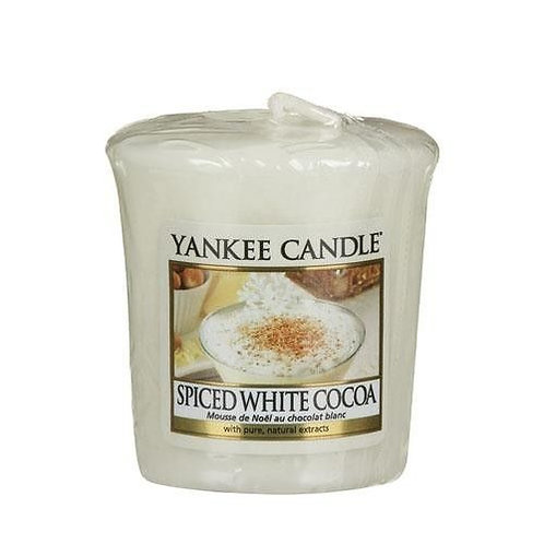 Yankee Candle Votive Candle Spiced White Cocoa