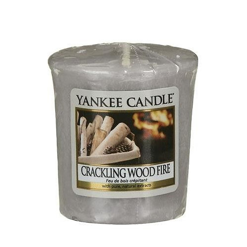 Yankee Candle Votive Candle Crackling Wood