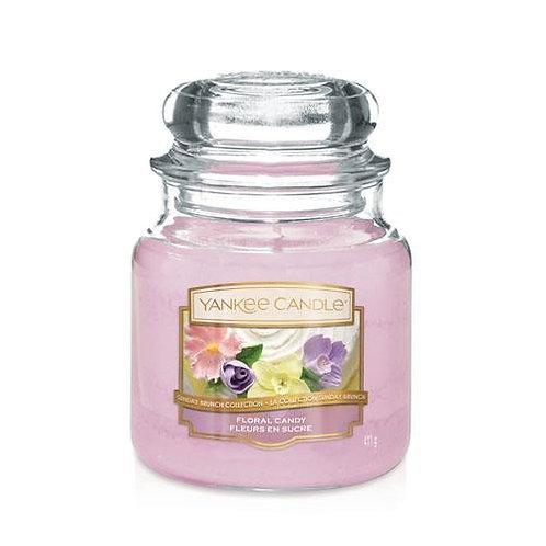 Yankee Candle Medium Jar Floral Candy