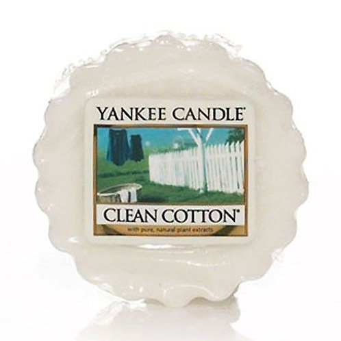 Yankee Candle Wax Melt Clean Cotton