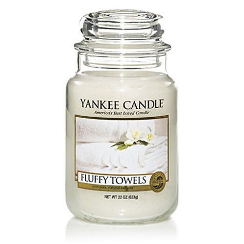 Yankee Candle Large Jar Fluffy Towels