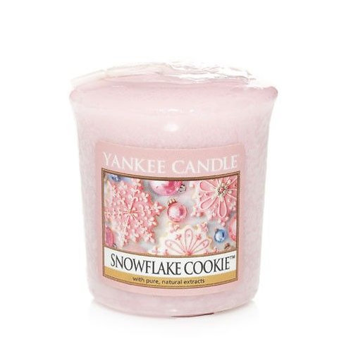 Yankee Candle Votive Candle Snowflake Cookie