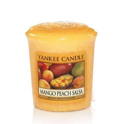 Yankee Candle Votive Candle Mango Peach Salsa